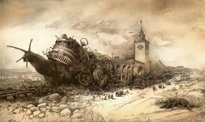 Delay-trains by artfactotum