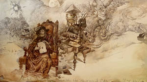 Nostradamus predicts the appearance of ipad 3 by artfactotum
