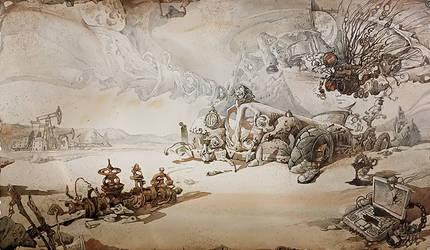Martian chronicles. Oil
