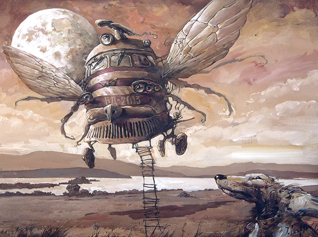 Martian chronicles. Arrival by artfactotum