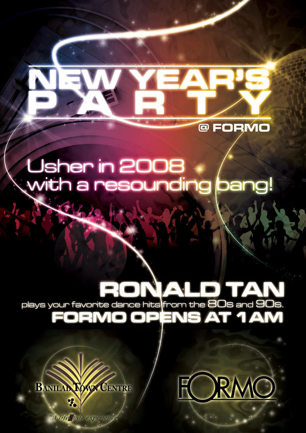 NEW YEARS PARTY AT FORMO by sercor