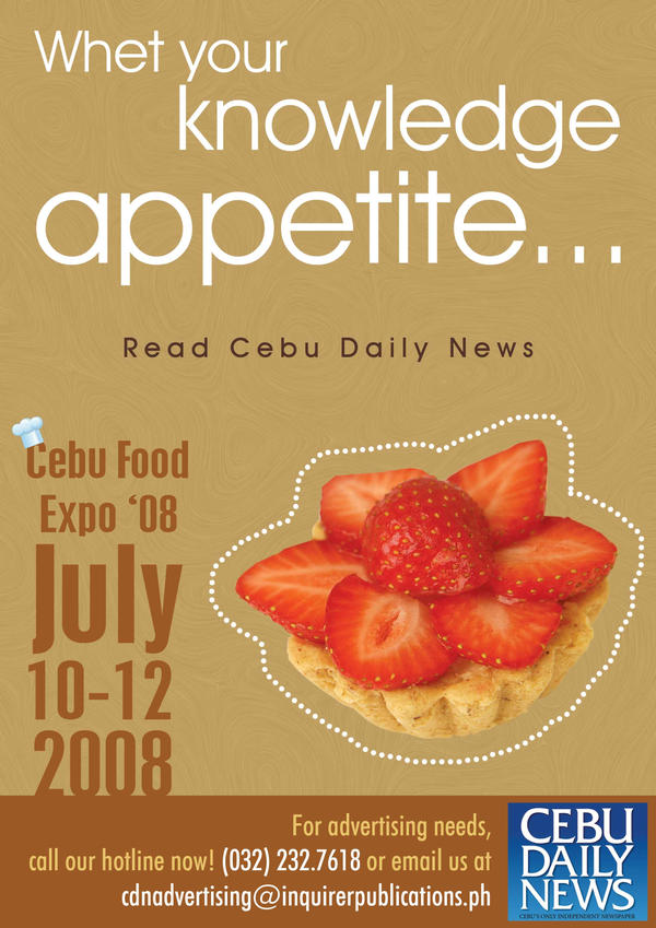 Cebu Food Expo 2008 by sercor