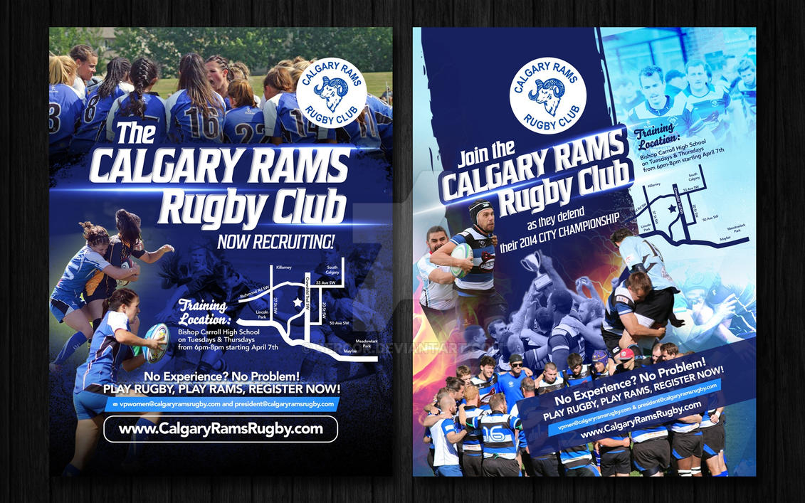 Calgary Rams by sercor