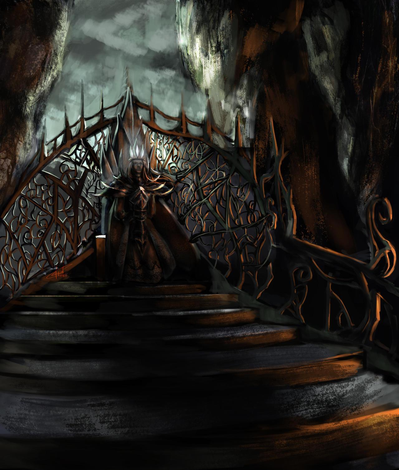 Morgoth or Melkor? by Janonna-art on DeviantArt
