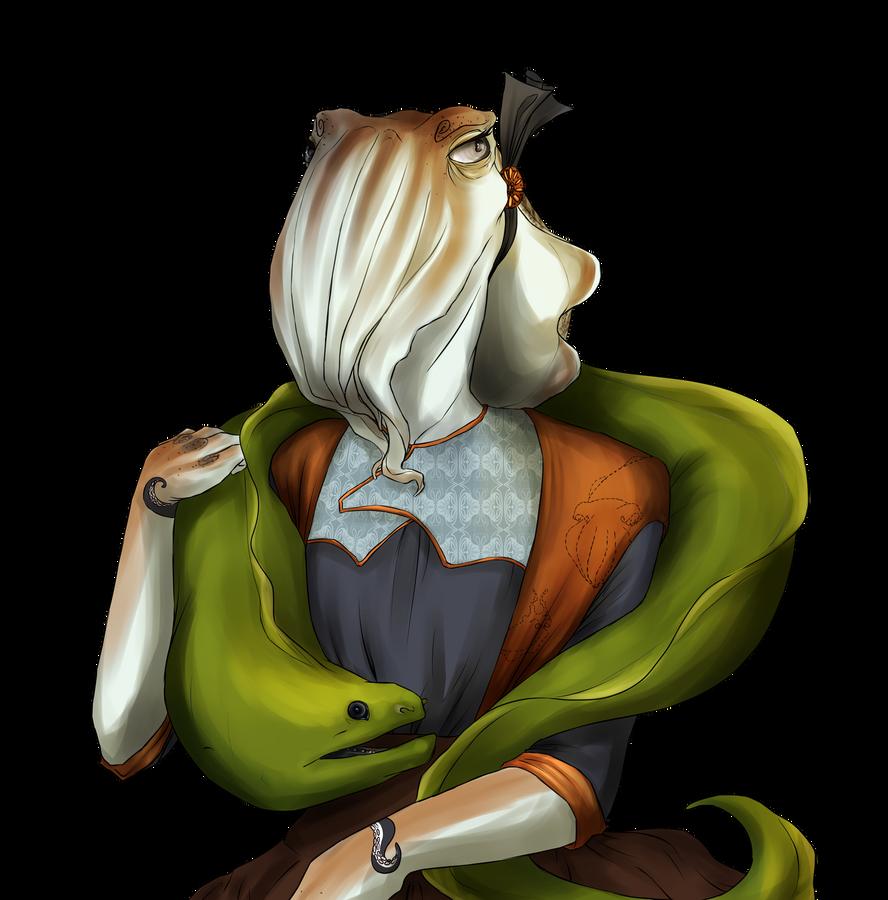 Lady Sepiida by ChesireHats