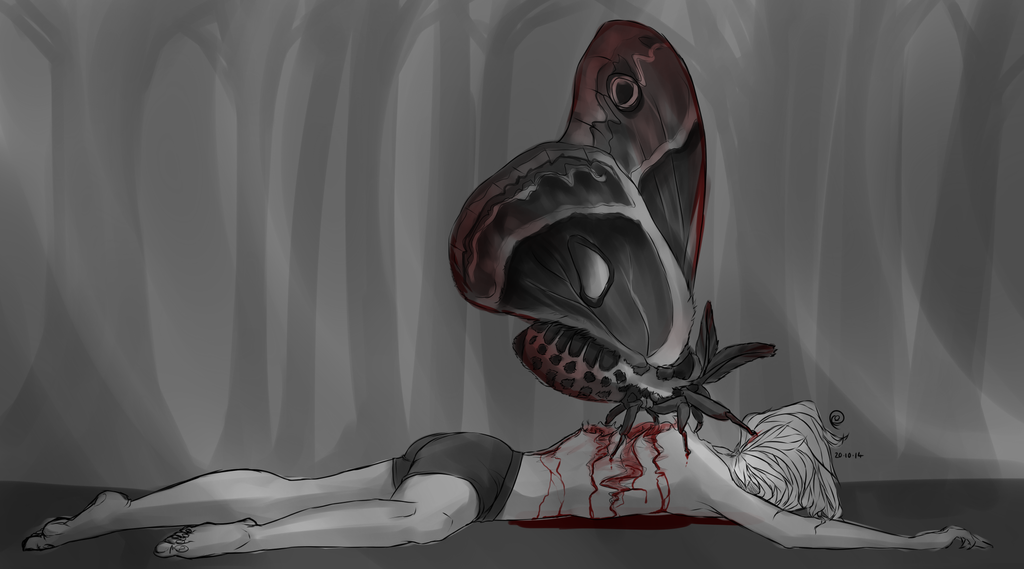 Goretober #20 Parasite by ChesireHats