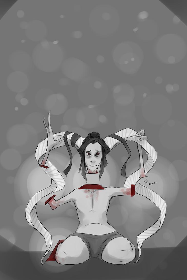 Goretober #29 Distorted Body/Broken Bones by ChesireHats