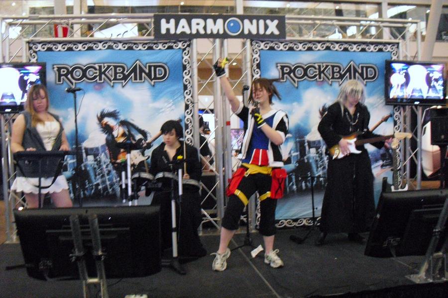 PAX east- KH Rock Band 2 by w3dOtOhAv3h3aRtS