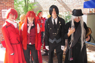 AAC 2011 Black Butler Group by w3dOtOhAv3h3aRtS