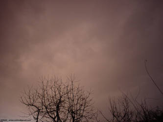 Weird Christmas sad sky