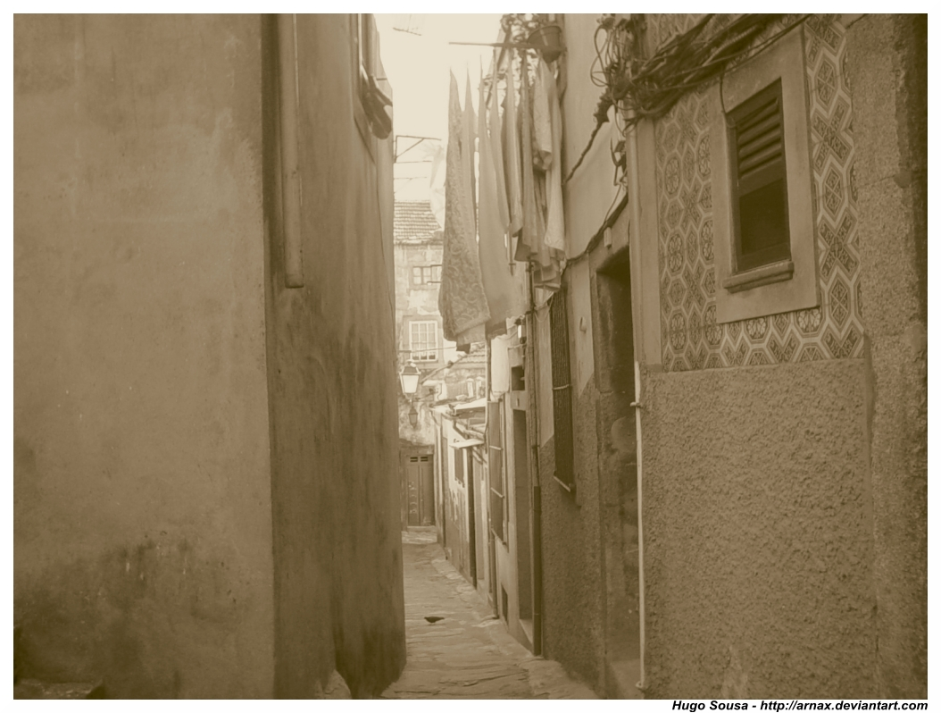 Alley by Arnax
