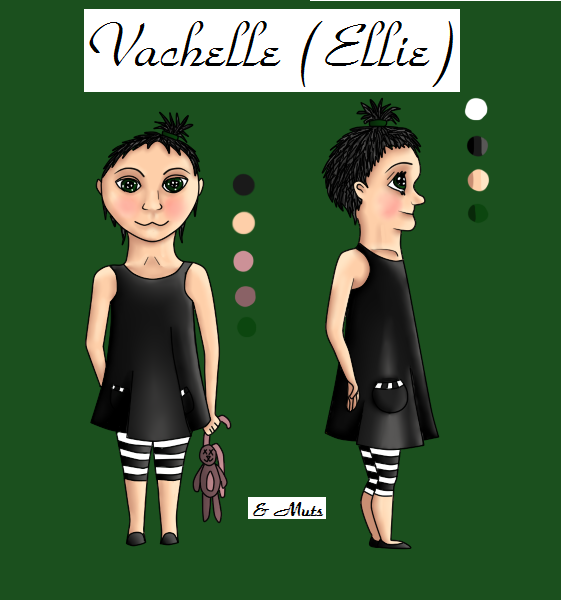 Ellie Reference Sheet by Noekert