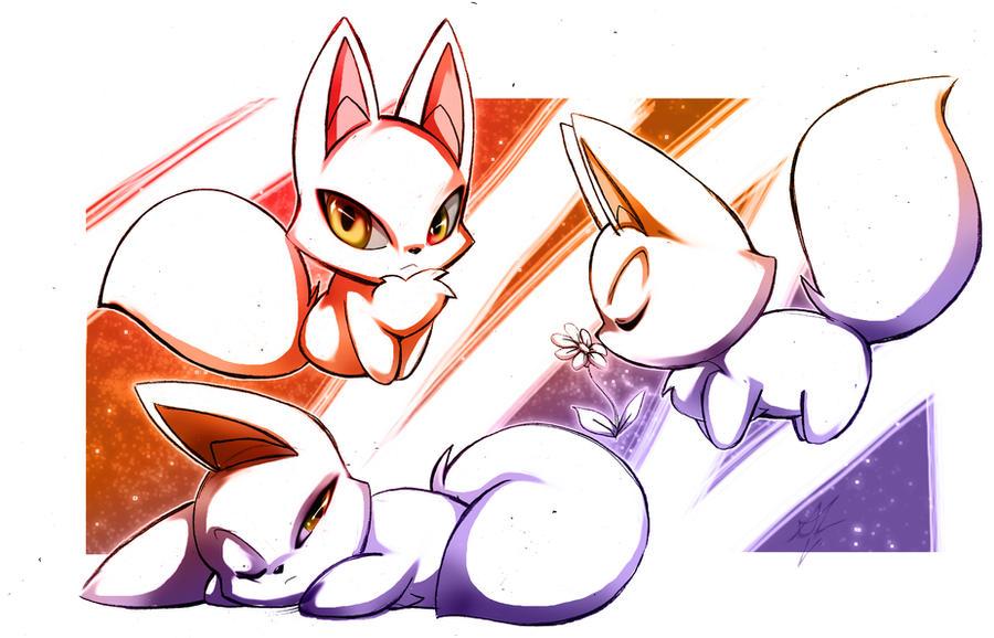 LITTLE FOX by WhiteFox89