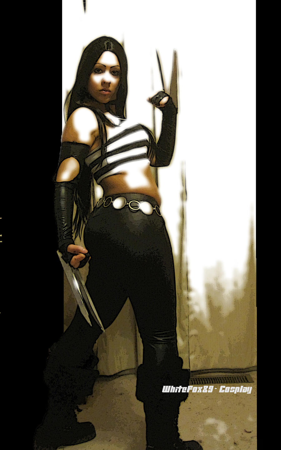 X-23 FULL SHOT by WhiteFox89