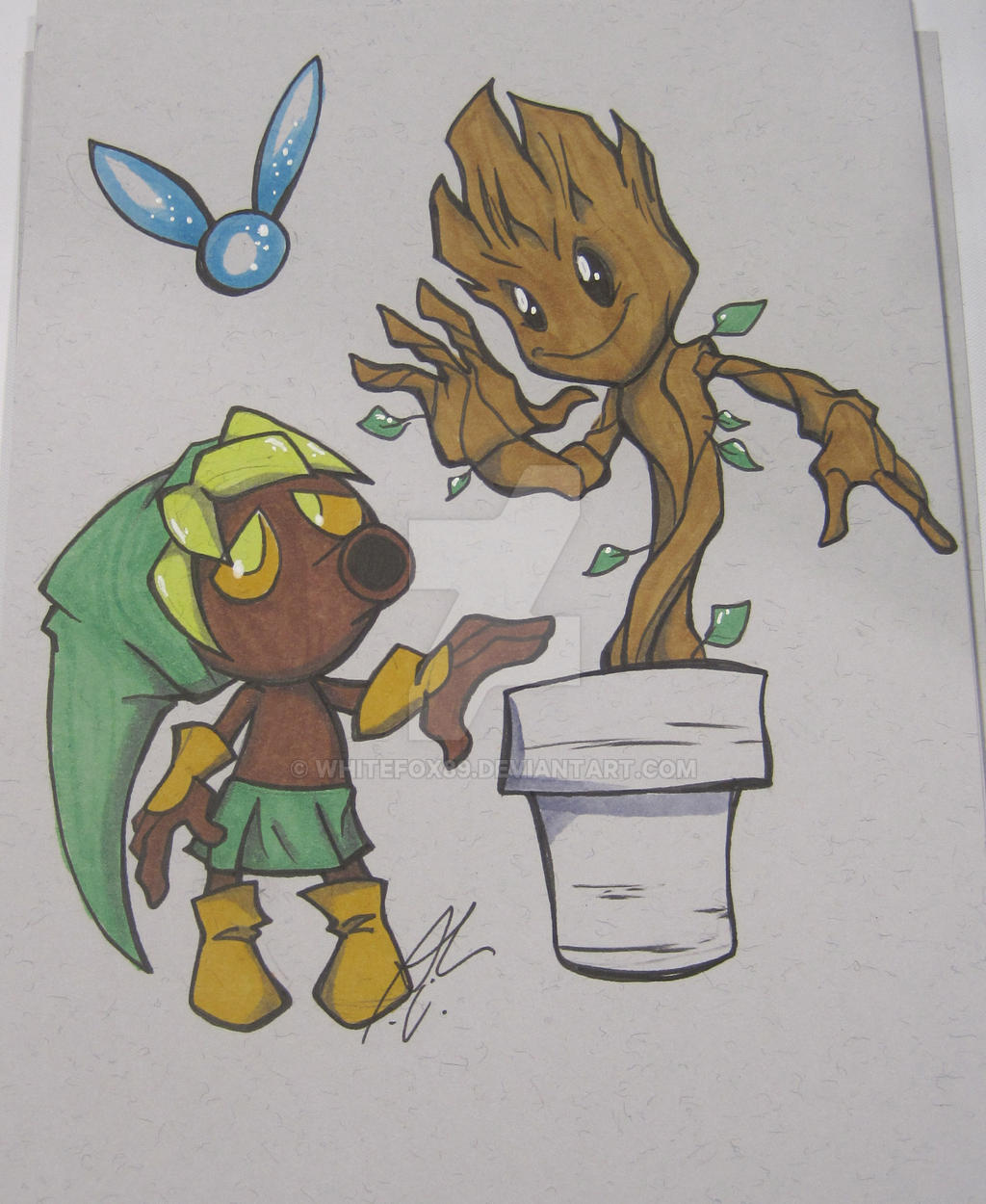 deku_nut_link_and_little_groot_by_whitef