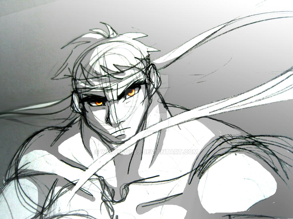 Ryu in focus by WhiteFox89