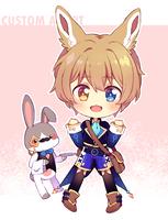 [Custom] Bunny boy by Naoryu