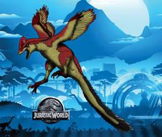 Dinovember day 26 - Deinonychus by kingrexy