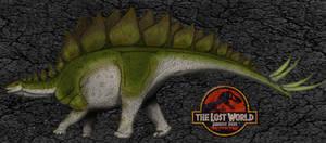 Dinovember day 7 - Stegosaurus by kingrexy