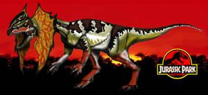 Dinovember day 6 - Dilophosaurus