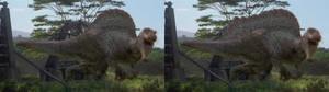 Spinosaurus photomanipulation