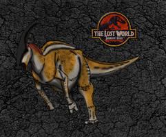 Dinovember day 23 - Parasaur by kingrexy