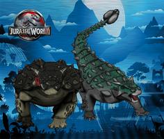 Dinovember day 5 - Ankylosaurus by kingrexy
