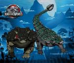 Dinovember day 5 - Ankylosaurus