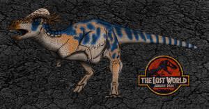 Dinovember day 21 - Pachycephalosaurus by kingrexy