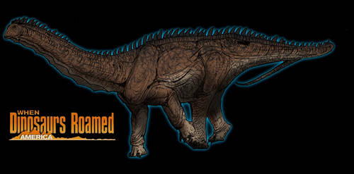 When Dinosaurs Roamed America Apatosaurus