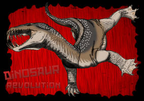 Dinosaur Revolution - Nothosaur by kingrexy