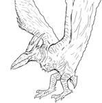 Pteranodon Proportioned Rodan