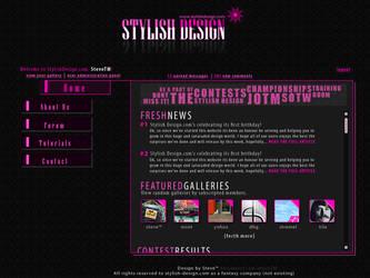 Stylish Design Template by steveTM