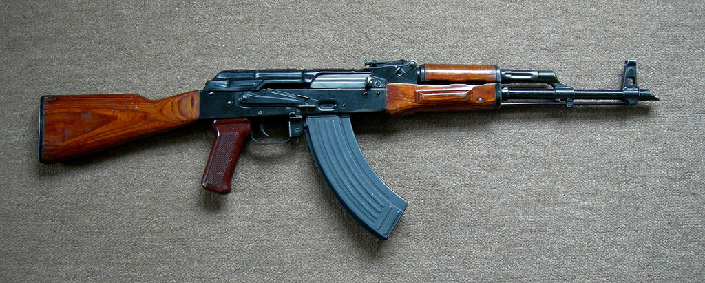 Soviet AKM Assault Rifle by ToxicGas