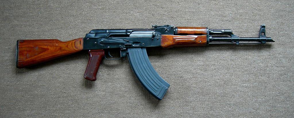 Soviet AKM Assault Rifle by ToxicGas