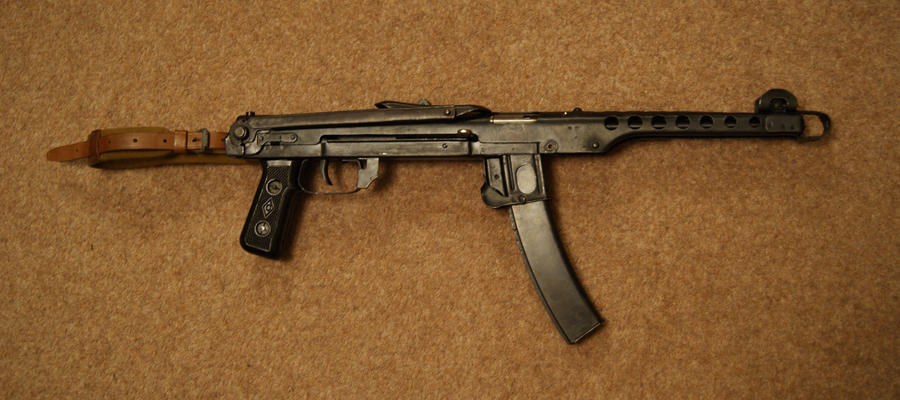 PPS-43 Submachine Gun by ToxicGas