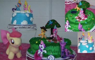 My Little Pony - Pony Picnic Cake