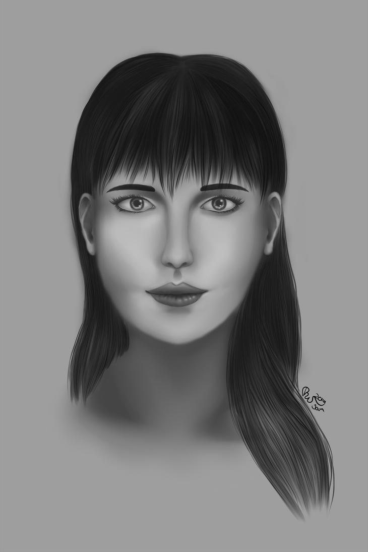 Zerafia Portrait by Cyanblau