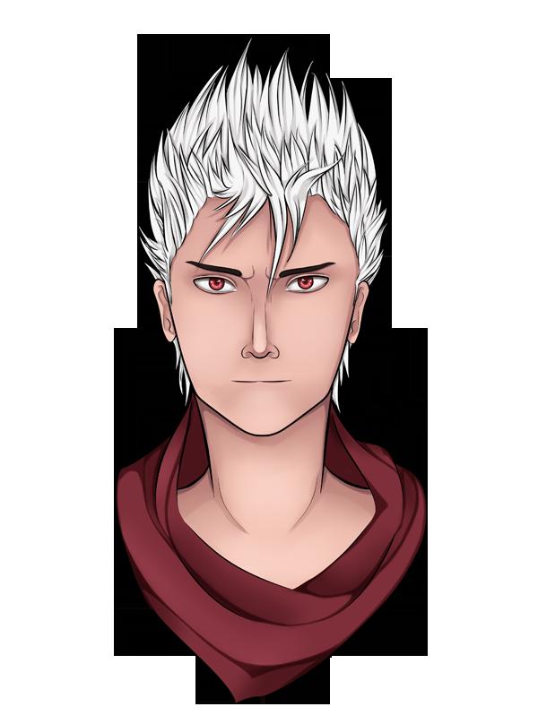 Hakeru - Portrait by Cyanblau