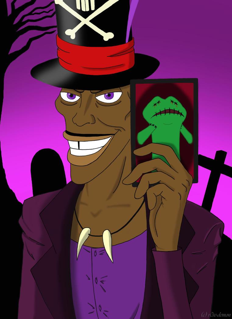 Shadow man princess and the frog