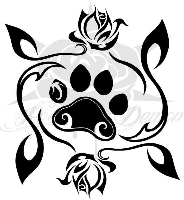 Otter paw tattoo celebrity
