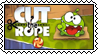Cut the Rope stamp by Edness-Madness