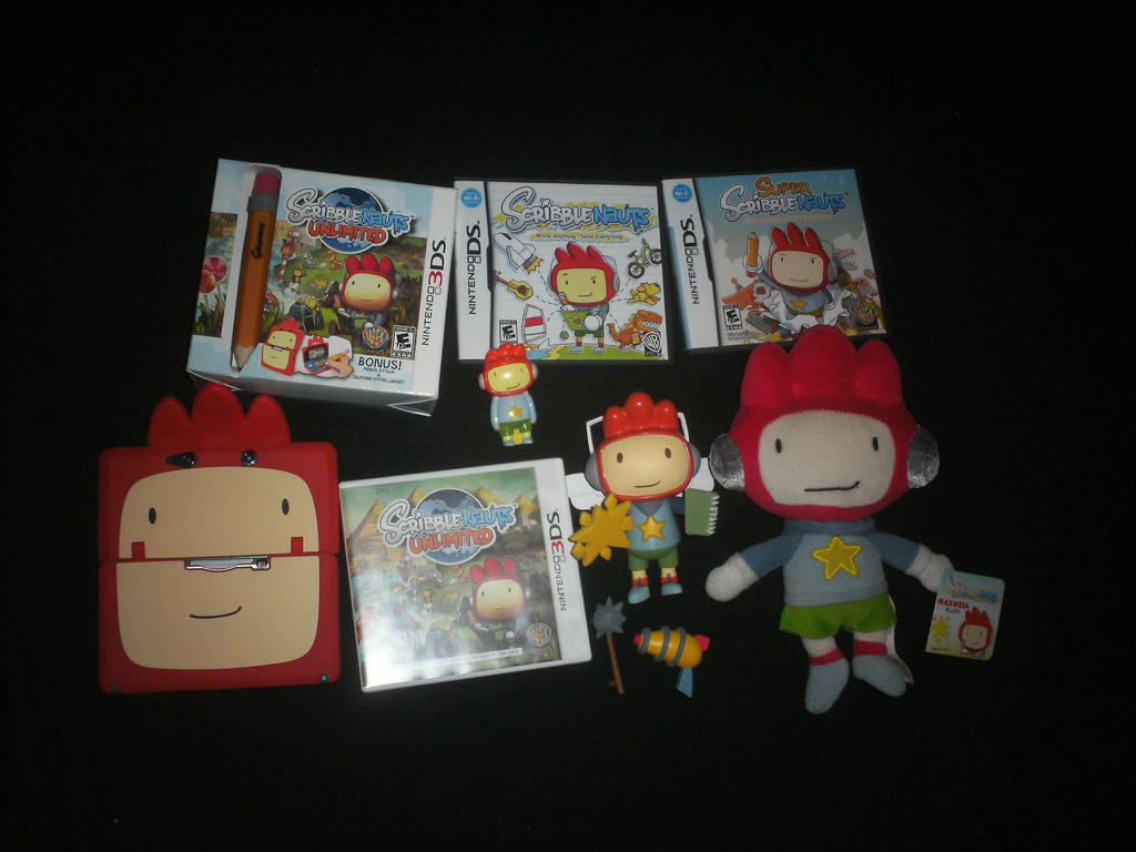 My Scribblenauts collection by Edness-Madness