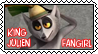 King Julien fangirl_stamp by KingJulienFangal