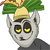 King Julien pervy face icon by KingJulienFangal