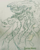 W.I.P Graveming with Penitent Tangent by AmanndaSierra