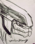 Elite Halo CE Sketch