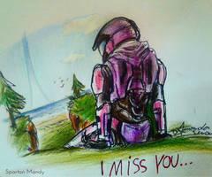 I miss you by AmanndaSierra