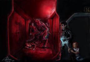 jackal invasion by AmanndaSierra