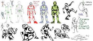 spartan Tutorial Drawing by AmanndaSierra